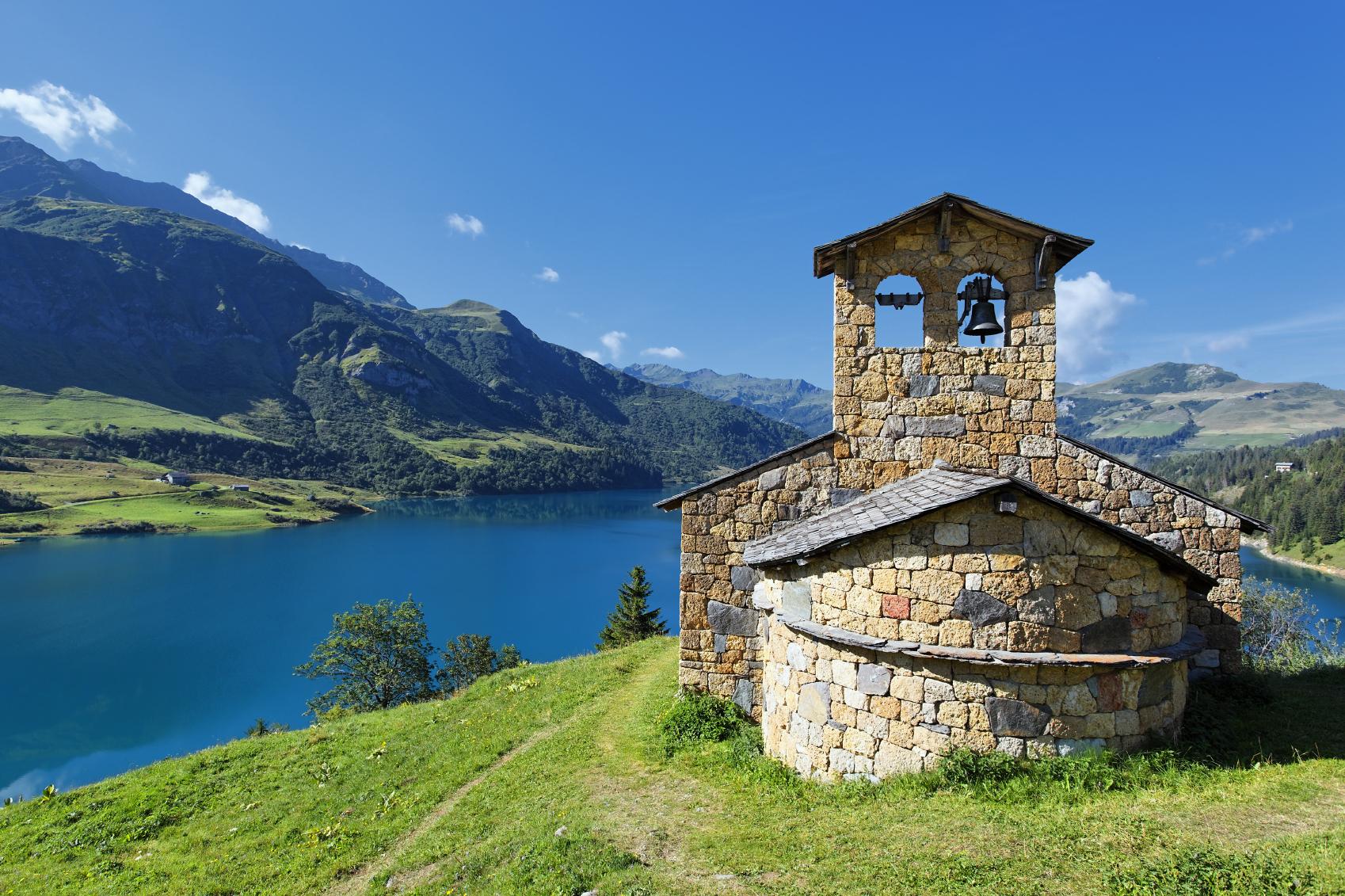 Adembenemend uitzicht in de Franse Alpen!